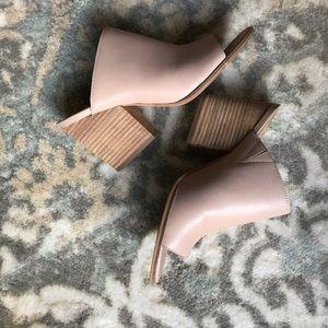 Dolce Vita Nude Block Heal Sandals